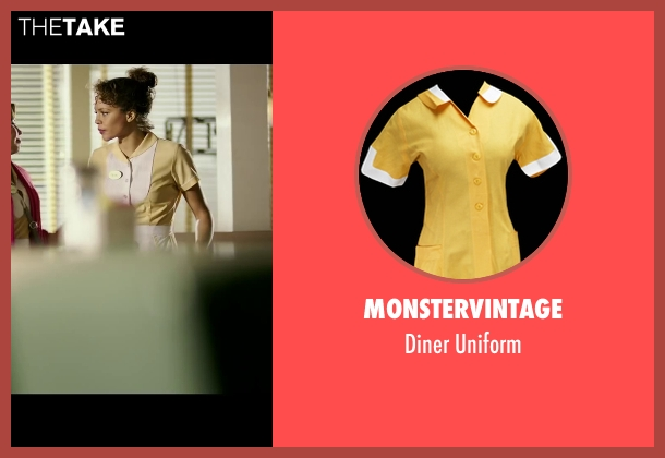MonsterVintage uniform from The Purge: Anarchy seen with Carmen Ejogo (Eva Sanchez)