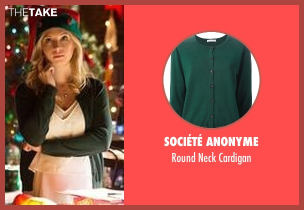 Société Anonyme green cardigan from The Vampire Diaries seen with Caroline Forbes (Candice Accola)