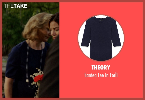 Theory blue forli from The Best of Me seen with Caroline Goodall (Evelyn Caster)