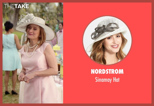 Nordstrom hat from The Best of Me seen with Caroline Goodall (Evelyn Caster)