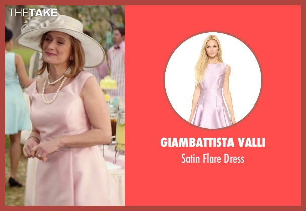 Giambattista Valli pink dress from The Best of Me seen with Caroline Goodall (Evelyn Caster)