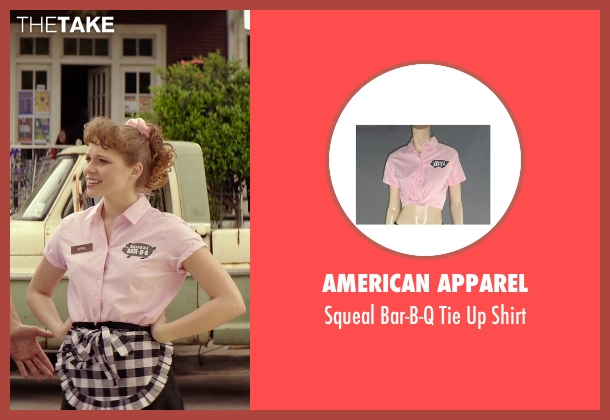 American Apparel shirt from The Best of Me seen with Caroline Hebert (Young April)