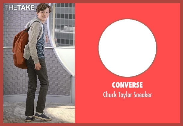 Converse blue sneaker from Supergirl seen with Carter Grant (Levi Miller)