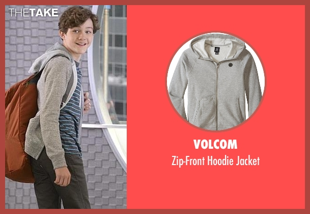 Volcom gray jacket from Supergirl seen with Carter Grant (Levi Miller)