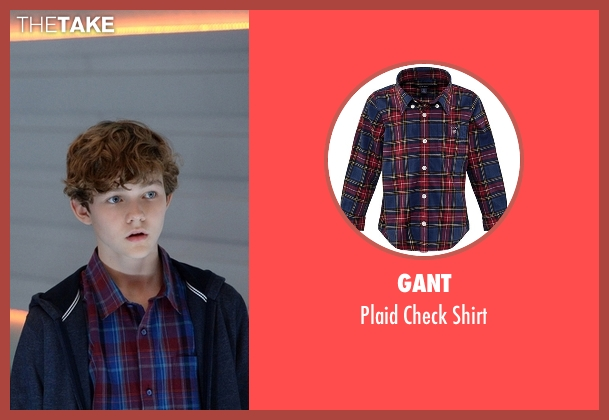 Gant shirt from Supergirl seen with Carter Grant (Levi Miller)