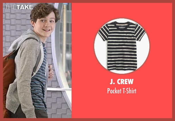 J. Crew t-shirt from Supergirl seen with Carter Grant (Levi Miller)