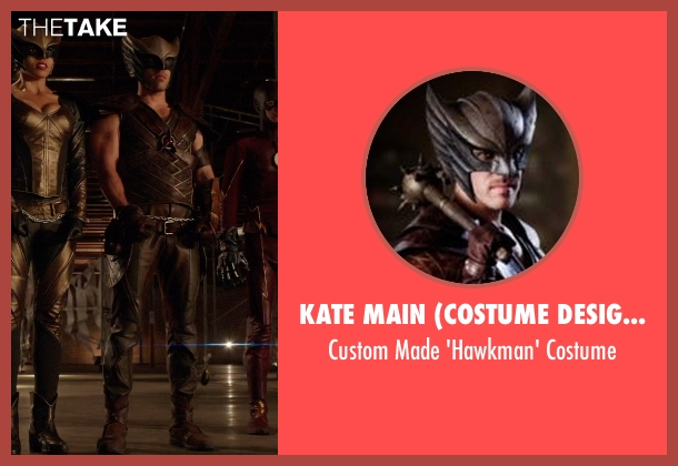 Kate Main (Costume Designer) costume from Arrow seen with Carter Hall / Hawkman (Falk Hentschel)