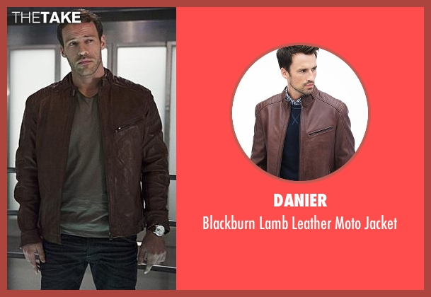 Danier brown jacket from The Flash seen with Carter Hall / Hawkman (Falk Hentschel)