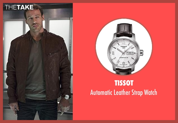 Tissot brown watch from The Flash seen with Carter Hall / Hawkman (Falk Hentschel)