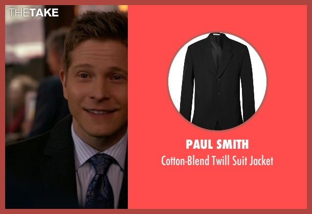 Paul Smith black jacket from The Good Wife seen with Cary Agos  (Matt Czuchry)
