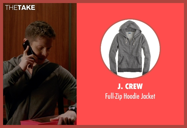 J. Crew gray jacket from The Good Wife seen with Cary Agos  (Matt Czuchry)