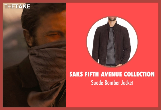 Saks Fifth Avenue Collection  brown jacket from Interstellar seen with Casey Affleck (Tom)