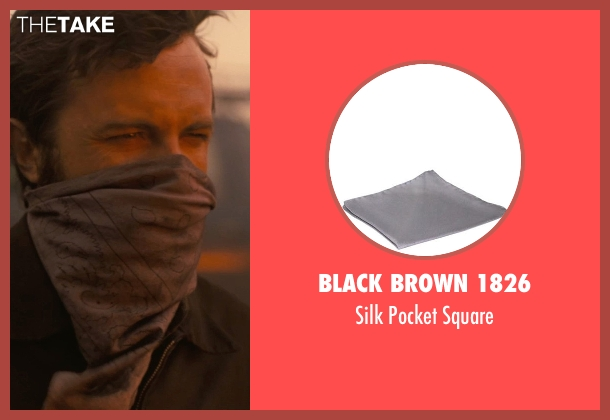 Black Brown 1826 gray square from Interstellar seen with Casey Affleck (Tom)