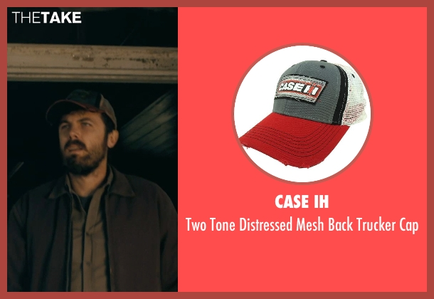 Case IH white cap from Interstellar seen with Casey Affleck (Tom)