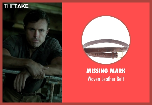 Missing Mark brown belt from The Finest Hours seen with Casey Affleck (Ray Sybert)
