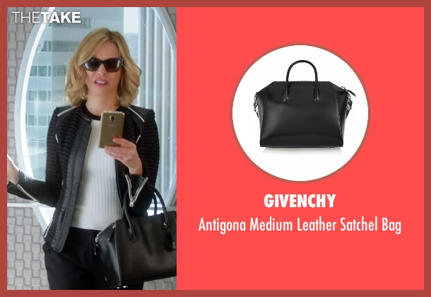 Givenchy black bag from Supergirl seen with Cat Grant (Calista Flockhart)
