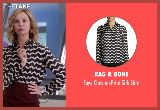 Rag & Bone	 black shirt from Supergirl seen with Cat Grant (Calista Flockhart)