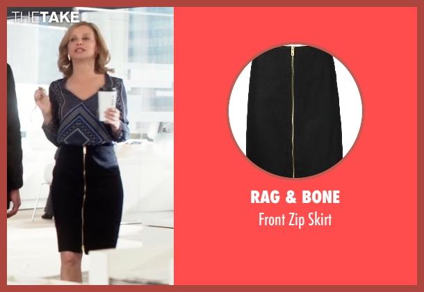 Rag & Bone   black skirt from Supergirl seen with Cat Grant (Calista Flockhart)