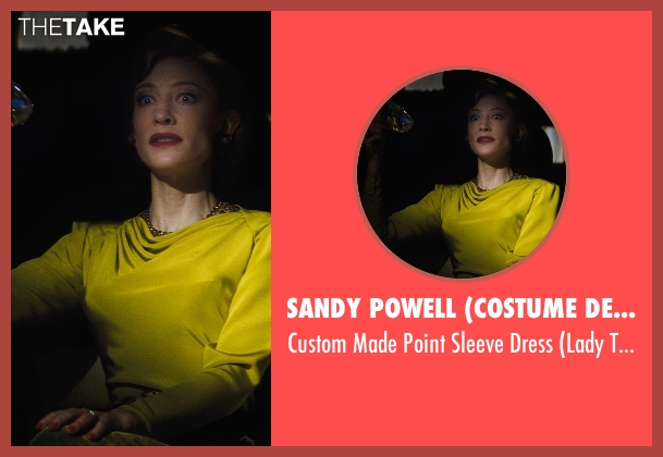Sandy Powell (Costume Designer) dress from Cinderella seen with Cate Blanchett (Lady Tremaine)