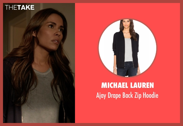 Michael Lauren black hoodie from Animal Kingdom seen with Catherine (Daniella Alonso)