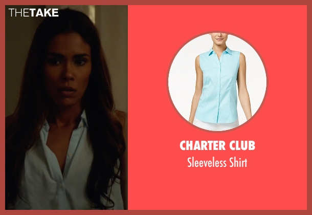 Charter Club blue shirt from Animal Kingdom seen with Catherine (Daniella Alonso)