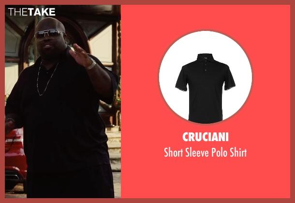 Cruciani black shirt from Begin Again seen with CeeLo Green (Troublegum)