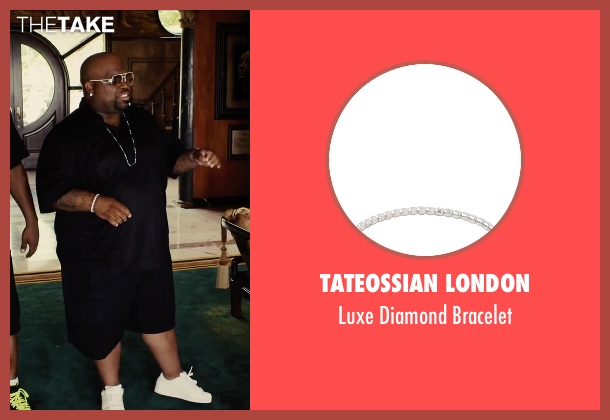 Tateossian London bracelet from Begin Again seen with CeeLo Green (Troublegum)