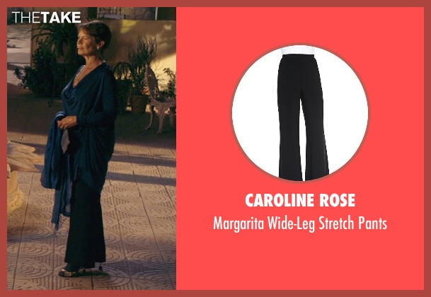 Caroline Rose black pants from The Second Best Exotic Marigold Hotel seen with Celia Imrie (Madge Hardcastle)
