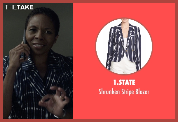 1.State blue blazer from House of Cards seen with Celia Jones (LisaGay Hamilton)