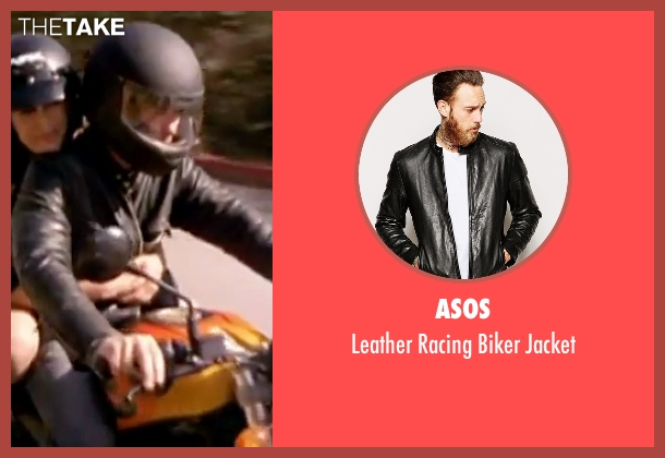 Asos black jacket from Freaky Friday seen with Chad Michael Murray (Jake)