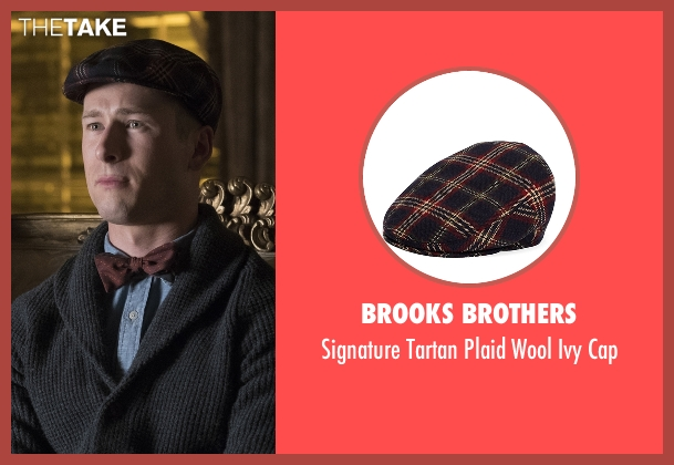 Brooks Brothers blue cap from Scream Queens seen with Chad Radwell (Glen Powell)