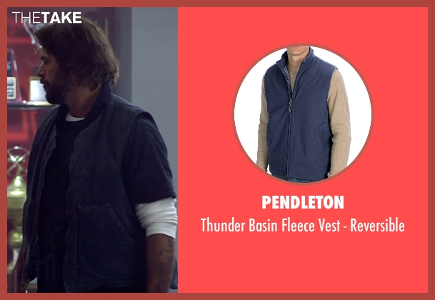 Pendleton blue reversible from Need for Speed seen with Chad Randall (Big Al)