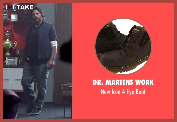 Dr. Martens Work brown boot from Need for Speed seen with Chad Randall (Big Al)