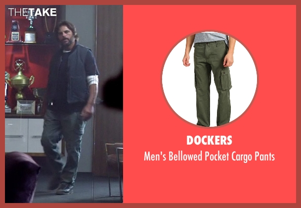 Dockers green pants from Need for Speed seen with Chad Randall (Big Al)