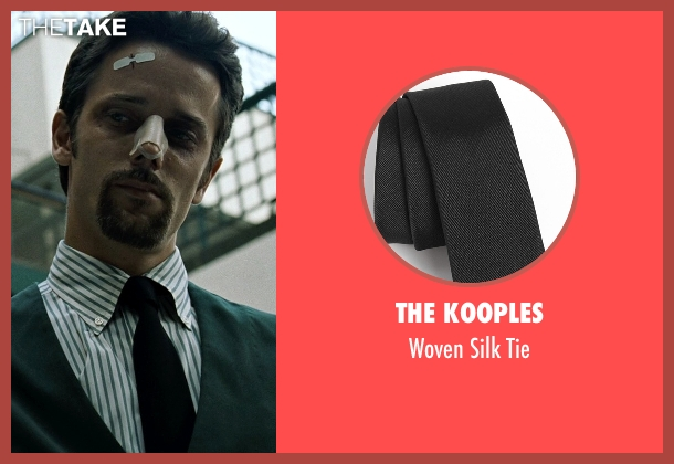 The Kooples black tie from Fight Club seen with Unknown Actor (Unknown Character)