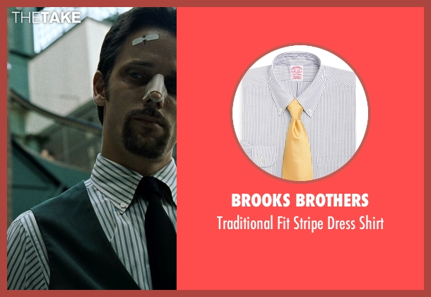 Brooks Brothers white shirt from Fight Club seen with Unknown Actor (Unknown Character)