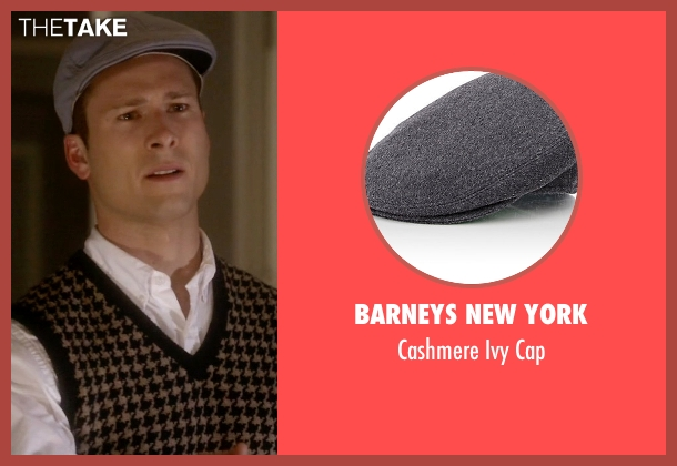 Barneys New York gray cap from Scream Queens seen with Chad (Glen Powell)