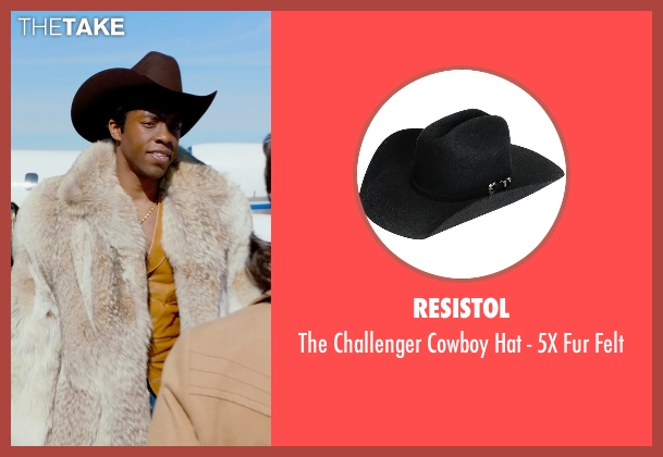 Resistol black felt from Get On Up seen with Chadwick Boseman (James Brown)