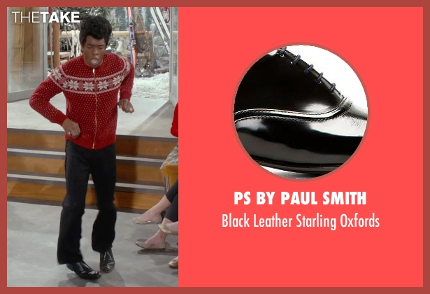 PS by Paul Smith black oxfords from Get On Up seen with Chadwick Boseman (James Brown)