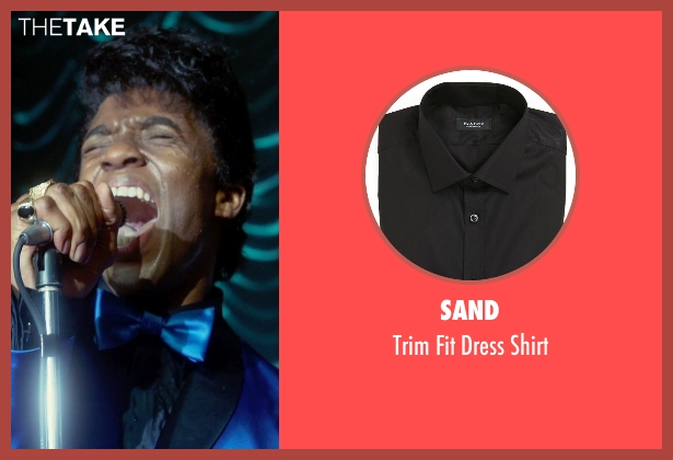 Sand black shirt from Get On Up seen with Chadwick Boseman (James Brown)