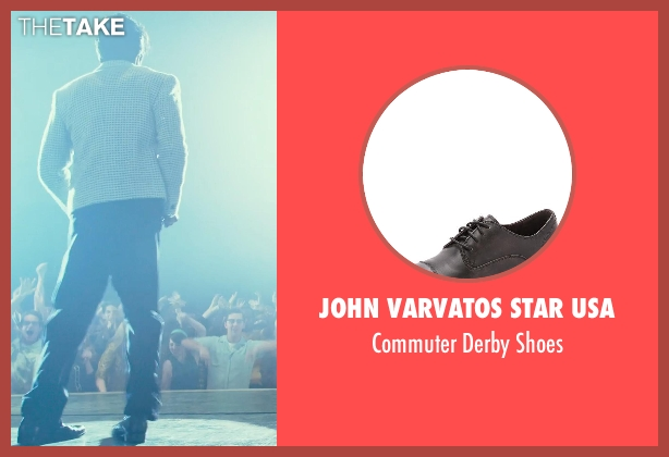 John Varvatos Star USA black shoes from Get On Up seen with Chadwick Boseman (James Brown)