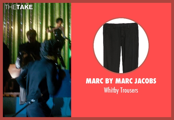 Marc by Marc Jacobs black trousers from Get On Up seen with Chadwick Boseman (James Brown)