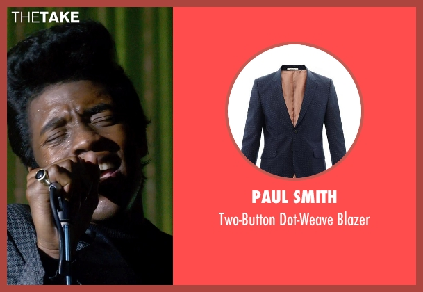 Paul Smith blazer from Get On Up seen with Chadwick Boseman (James Brown)