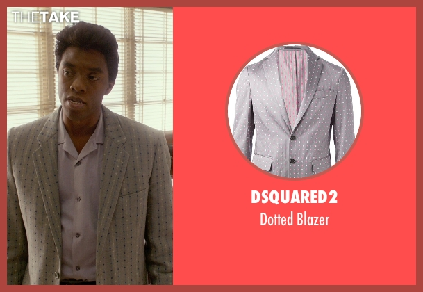 Dsquared2 blazer from Get On Up seen with Chadwick Boseman (James Brown)