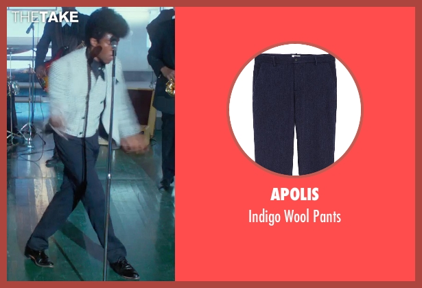 Apolis blue pants from Get On Up seen with Chadwick Boseman (James Brown)