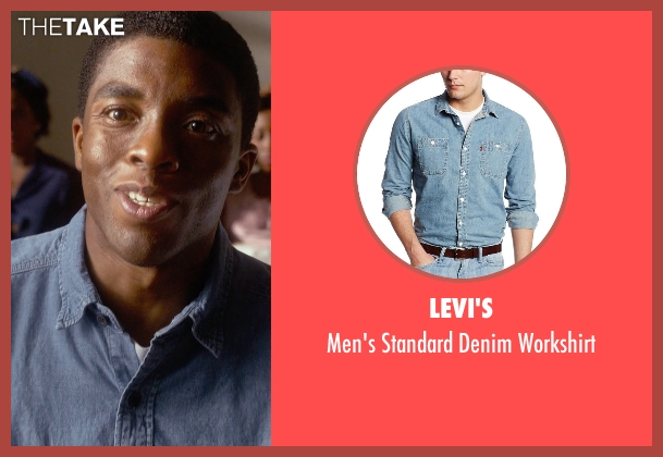 Levi's blue workshirt from Get On Up seen with Chadwick Boseman (James Brown)