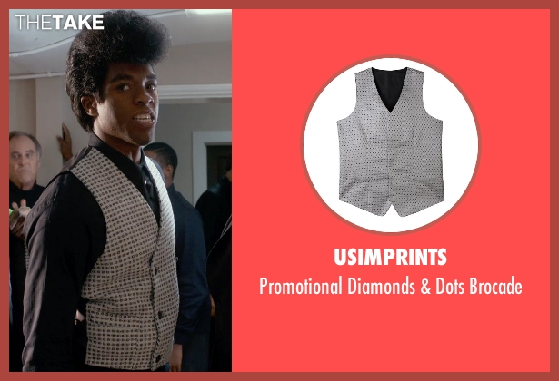 Usimprints brocade from Get On Up seen with Chadwick Boseman (James Brown)