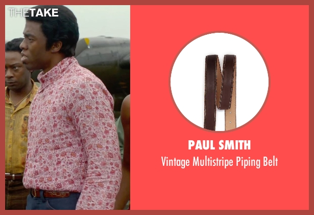 Paul Smith brown belt from Get On Up seen with Chadwick Boseman (James Brown)