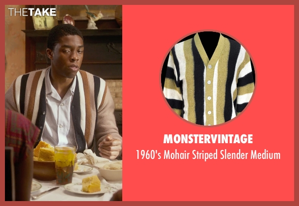 Monstervintage brown medium from Get On Up seen with Chadwick Boseman (James Brown)