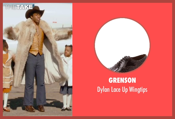 Grenson brown wingtips from Get On Up seen with Chadwick Boseman (James Brown)